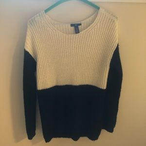 Gap colourblock wool sweater